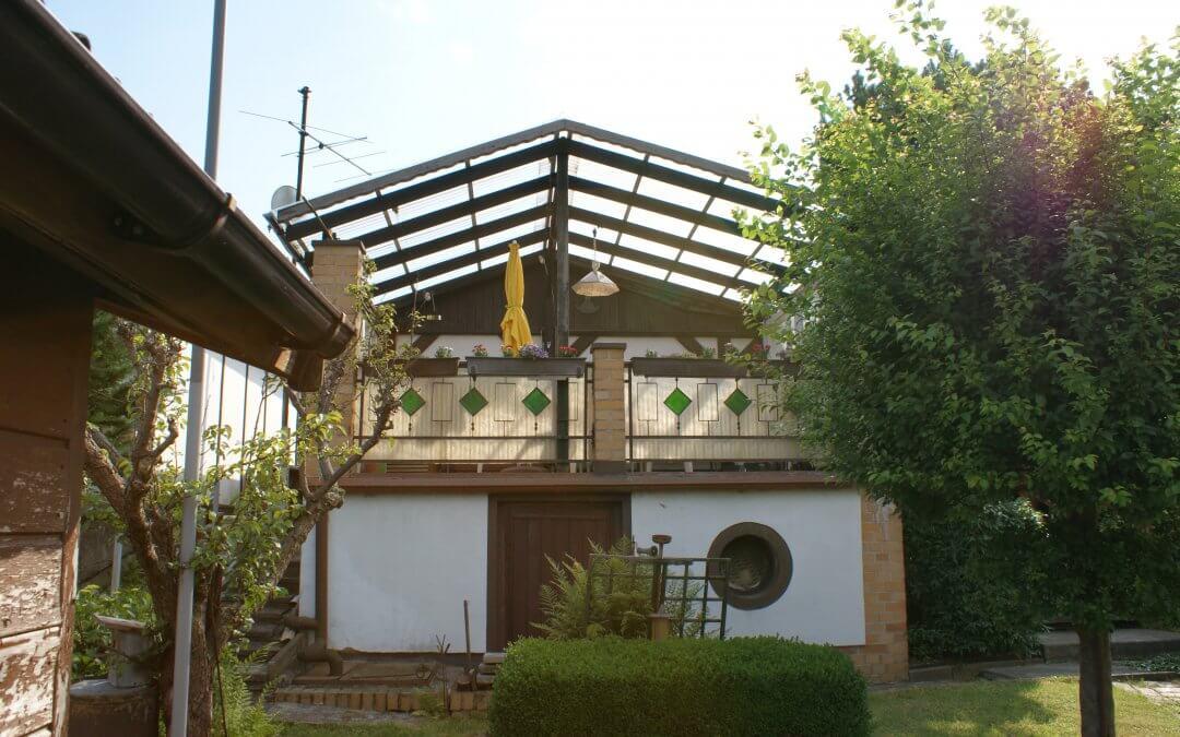 Vergeben: Toller Garten mit Laube und großen Balkon